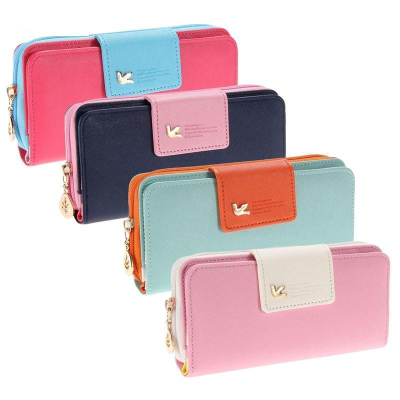 Fashionable Multi-Function Leather Pouch