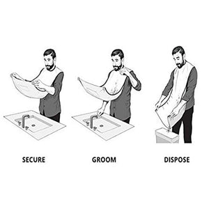 Beard Grooming & Trimming Apron