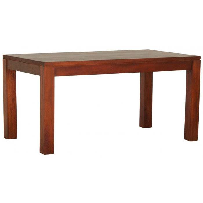 Sweden Amsterdam Teak Solid Timber 150 x 90 cm Rectangular Dining Table - ( Light Pecan Color )