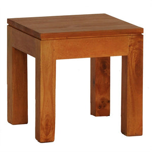 Amsterdam Teak Solid Timber Lamp Table - Light Pecan LT-000-TA-LP