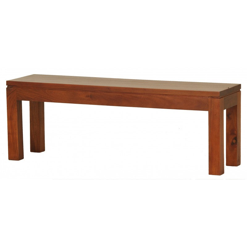 Member Offer - Sweden Bench 120 cm Full Solid Wood 120x35 ( Light Pecan Colour )