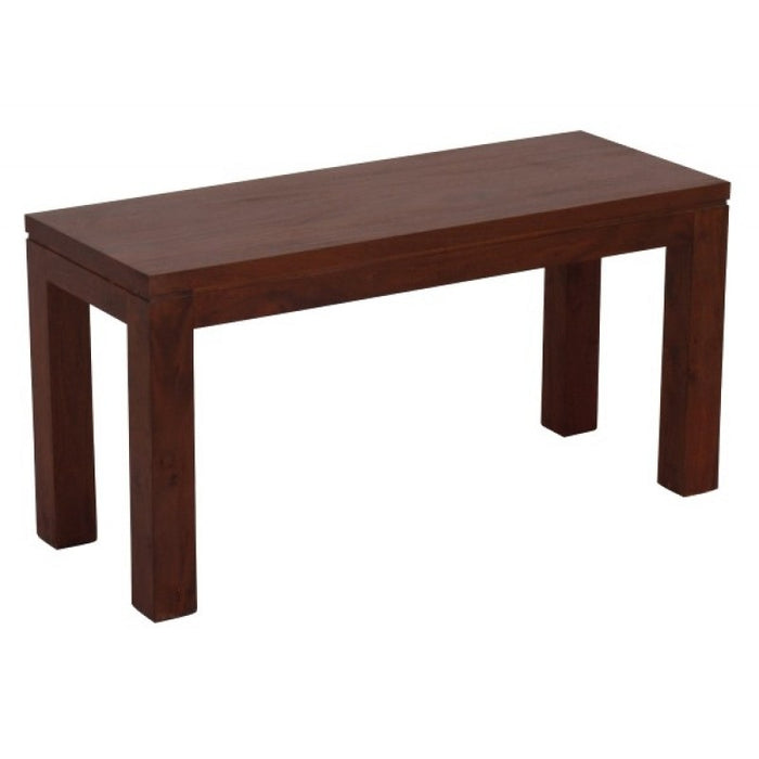 Member Offer - Sweden Bench 90 cm Full Solid 90x35 ( Mahogany Colour )