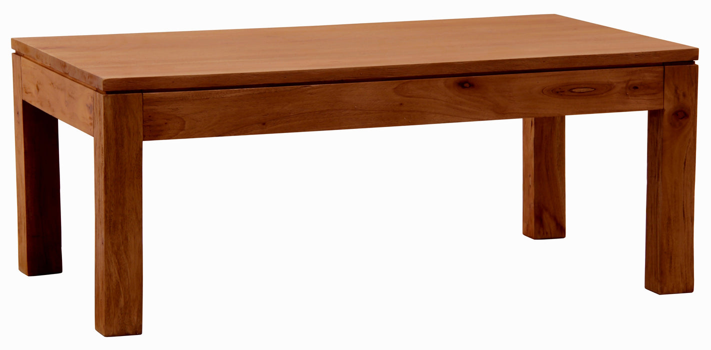 Sweden Teak Coffee Table 100 x 60 cm Light Pecan