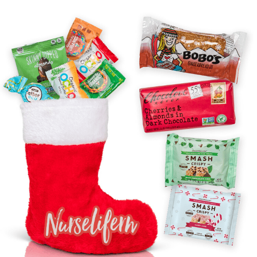 NurseLife Healthy Holiday Stocking
