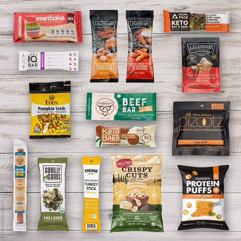 Ultimate Keto Friendly Snacks Variety Sampler Box