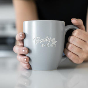 Booty By Plants Engraved Mug