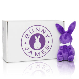 Plush Bunny James Bowtie Key Chain (1 Count)