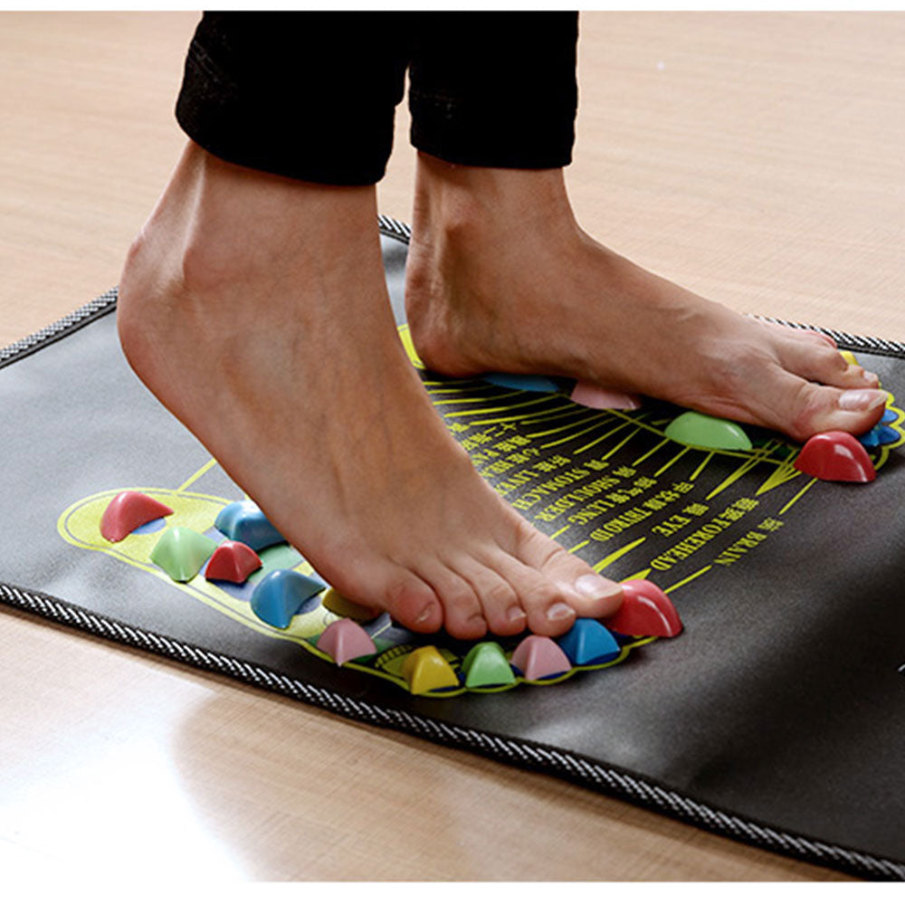 Relaxing Reflexology Foot Pad - Factor Gadgets