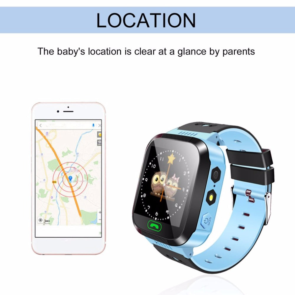 Touch Screen Tracker Smartwatch for Kids - [Buy the best Gadgets and Smartwatches 2018 for Kids, Men and Women] - [Factor Gadgets]