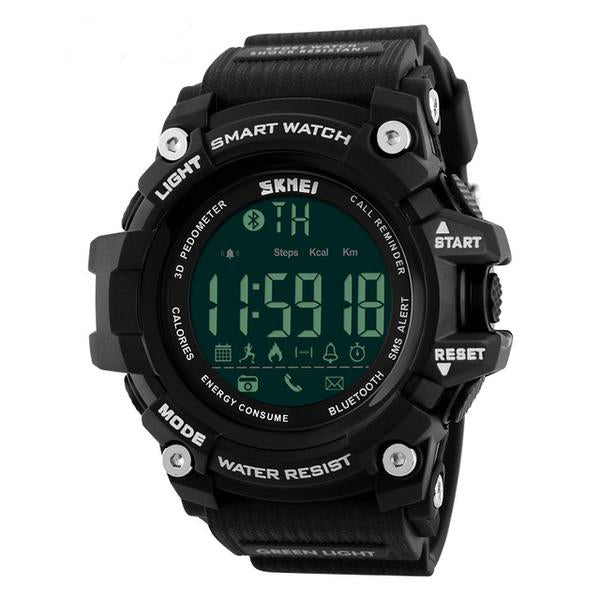 Waterproof Digital Wristwatch - [Buy the best Gadgets and Smartwatches 2018 for Kids, Men and Women] - [Factor Gadgets]