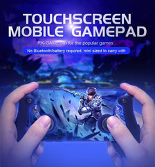 Touch screen Mobile Gamepad for IOS  & Android mobile - [Buy the best Gadgets and Smartwatches 2018 for Kids, Men and Women] - [Factor Gadgets]