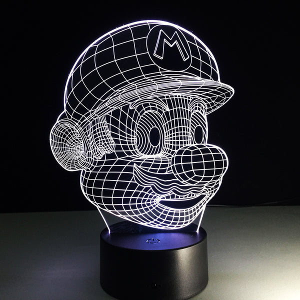 Super Mario 3D LED Night Light - Factor Gadgets