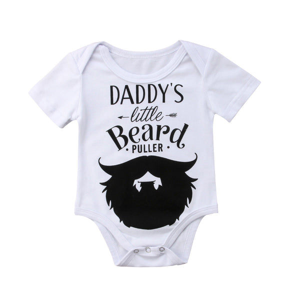 Daddy's Little Beard Puller Onesie - Factor Gadgets