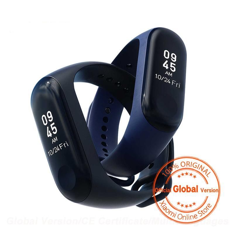 Global Version Xiaomi Mi Band 3 Miband 3 Smart Tracker Band Instant Message 5ATM Waterproof OLED Touch Screen Mi Band 3 - Factor Gadgets