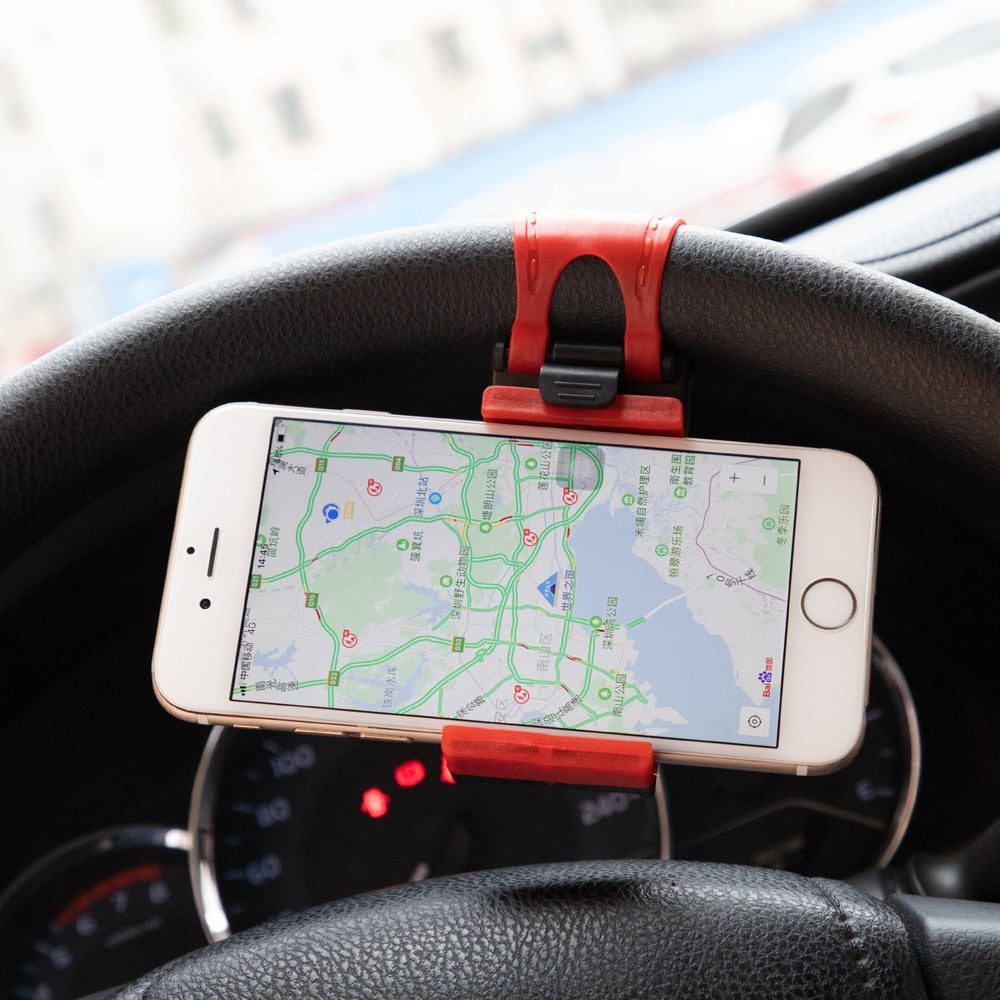 Steering Wheel Phone Mount - Factor Gadgets