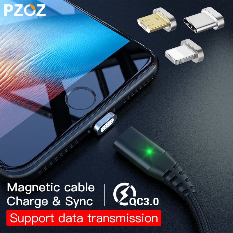 3-in-1 Magnetic USB Cable