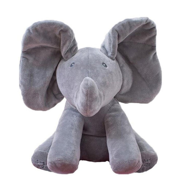 Peek-A-Boo Elephant Plush Doll For Babies