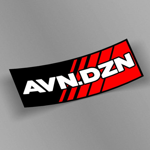 avn.dzn Decal AVN.DZN Triple Layer Die Cut #1