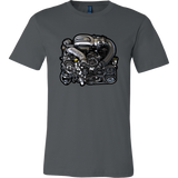 teelaunch T-shirt Canvas Mens Shirt / Asphalt / S 13B-REW Tee