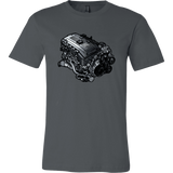 teelaunch T-shirt Canvas Mens Shirt / Asphalt / S N54B30 Tee