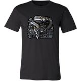 teelaunch T-shirt Canvas Mens Shirt / Black / S 13B-REW Tee