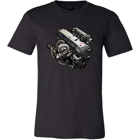 1Jz Vvt-I Tee - Canvas Mens Shirt / Black / S - T-Shirt