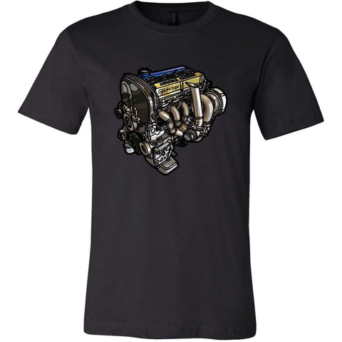 4G63 Tee - Canvas Mens Shirt / Black / S - T-Shirt