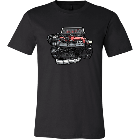 teelaunch T-shirt Canvas Mens Shirt / Black / S EJ207 Tee