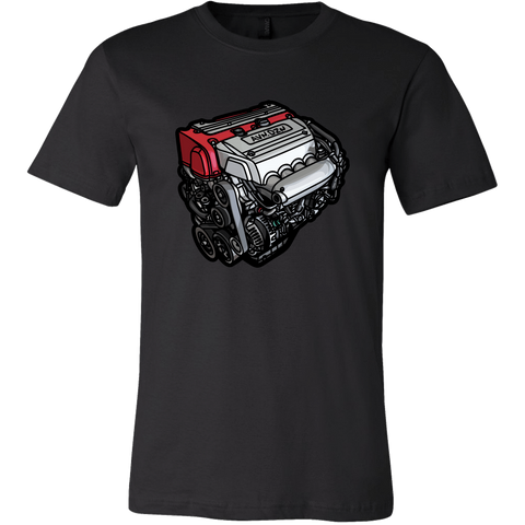 teelaunch T-shirt Canvas Mens Shirt / Black / S K20A Tee