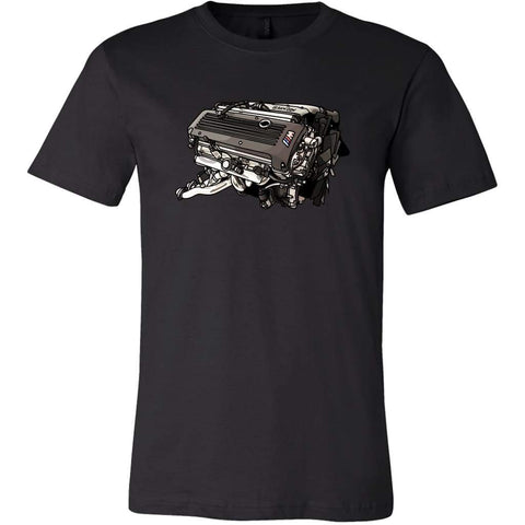 teelaunch T-shirt Canvas Mens Shirt / Black / S S54 Tee