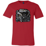 teelaunch T-shirt Canvas Mens Shirt / Red / S 13B-REW Tee