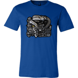 teelaunch T-shirt Canvas Mens Shirt / True Royal / S 13B-REW Tee