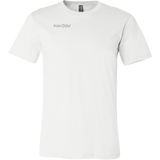 teelaunch T-shirt Canvas Mens Shirt / White / S R32 Back Print Tee/Hoodie