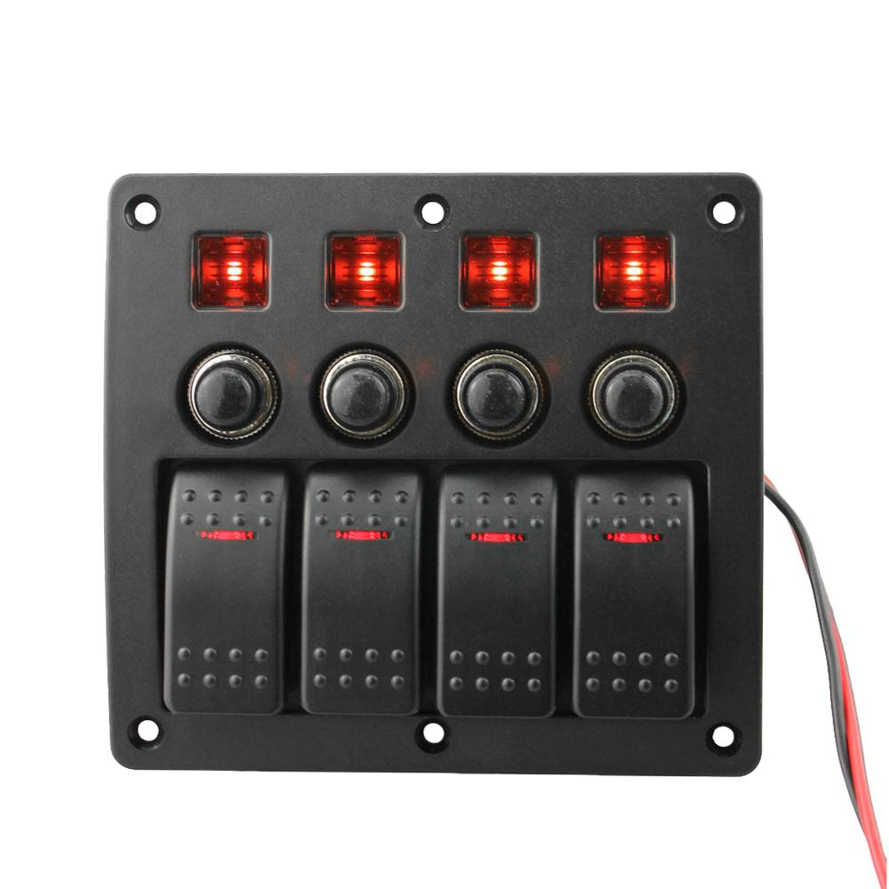 Toggle Switch With Led