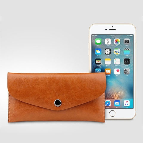 Leather iPhone Envelope