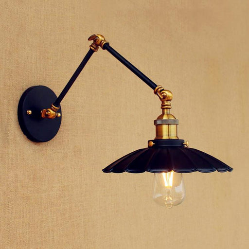 15cm Retro Loft Industrial Wall Lamp Vintage Swing Long Arm Wall Light Fixtures Edison Wall Sconce Appliques Murales Luminaire