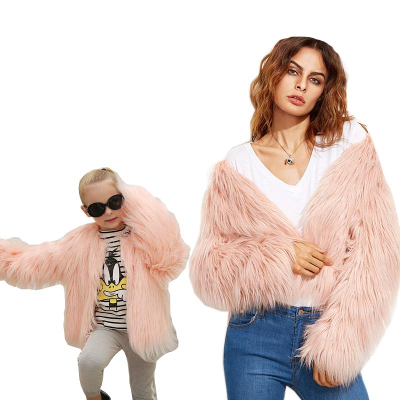 4aa6140c8cb ArtSu Fashion Winter Faux Fur Coat Plus Size 3XL Pink White Black Casual  Fluffy Jacket 2018 ...