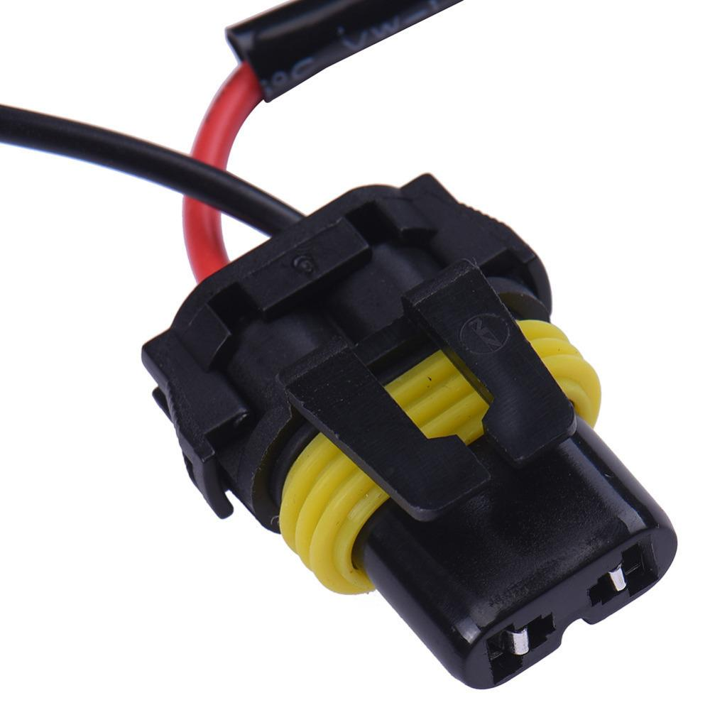 1pc H4 9003 Conversion Kit Hid Xenon Light Bulb Relay Controller Wiring Harness Lamp Plug Socket Cable