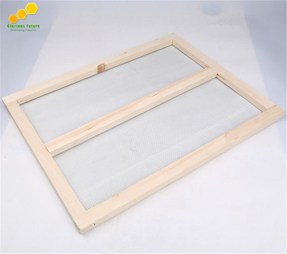 2 PCS Beehive Net Frame Fir Wood Frame With Galvanized Iron Net For ...