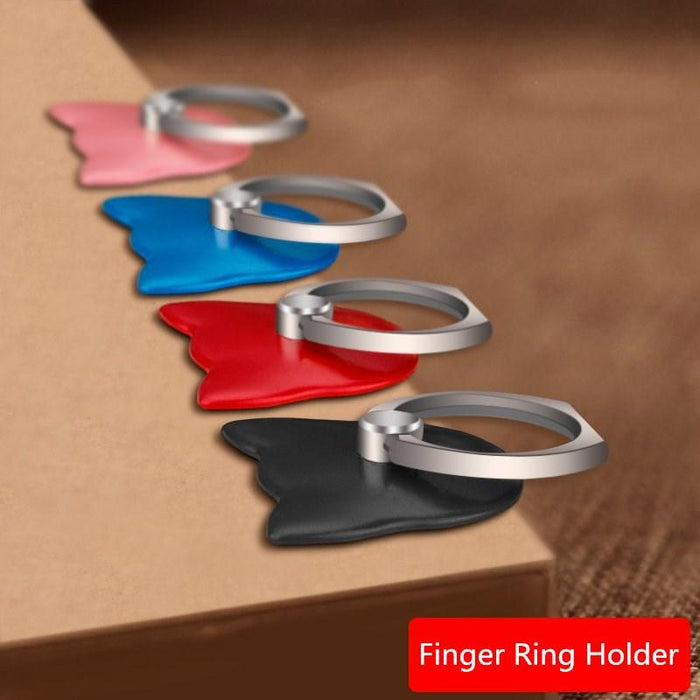 2 Pcs 360 Degree Finger Ring Mobile Phone Smartphone Stand Holder For iPhone  7 Samsung HUAWEI 7146c26c899