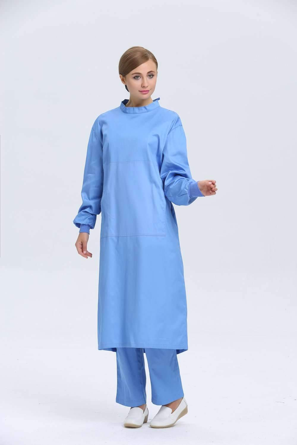 2015 OEM surgical gown cotton hospital uniform doctor nurse scrub ...