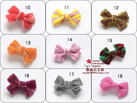 2015 Pet  bow hairpin puppy hair jewelry  Dog hair accessories Dog grooming 50pcs/lot