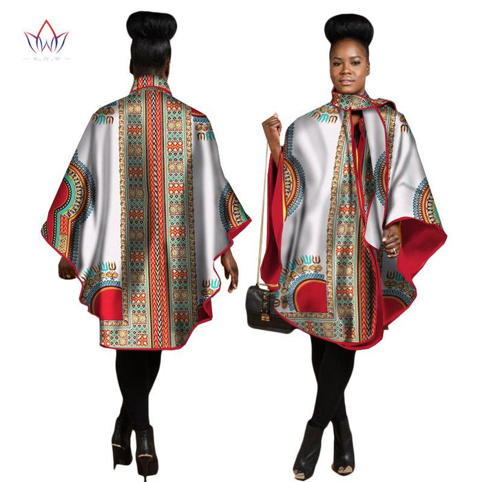 2017 Autumn African Trench Coat for Women Plus Size African Clothing ...