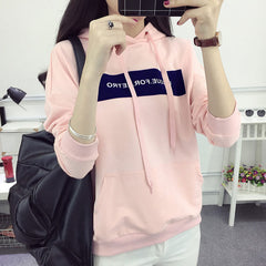2017 Autumn Winter Plus Size Hoodie Sweatshirt Women Hoodies Brand Long Sleeves Female Sweatshirt Thicken Hooded Sweatshirt