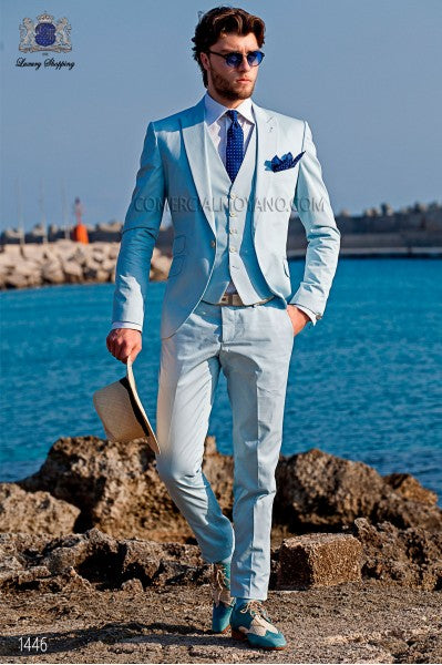 2017 Hot Sale Bespoke Men Suits Classic Slim Fit Black Wedding Dress ...