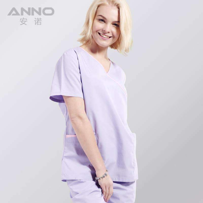 2017 New Arrivals Hospital Doctor Scrub Sets Women Isolation Gown ...