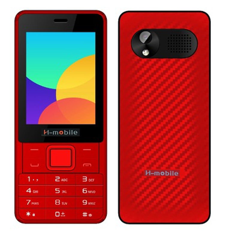 2017 New Original H-Mobile T810 Phone Three SIM Card Bluetooth Flashlight MP3 MP4 FM Camera 2.8 inch Cell Phone