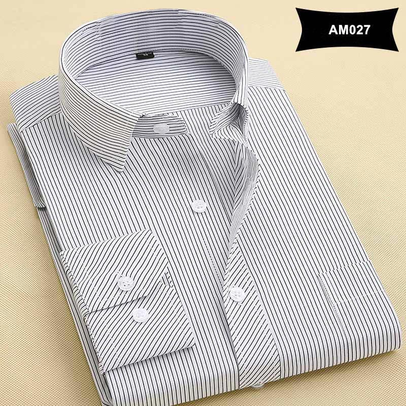 2017 Spring New Arrival Mens Shirts Pure Color Turn-Down Collar Formal Business Fashion Cotton Long Sleeve Men Dress Shirts