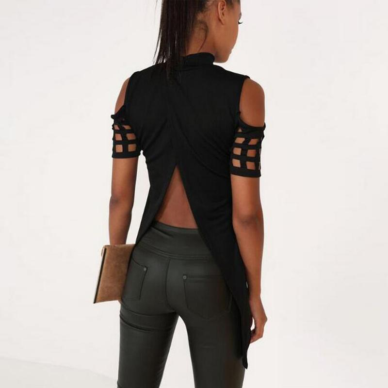 Sexy back out tops