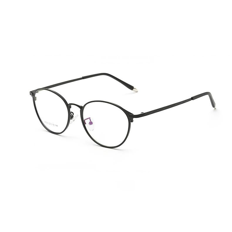 2017 vintage round metal frame glasses computer clear glasses women ...